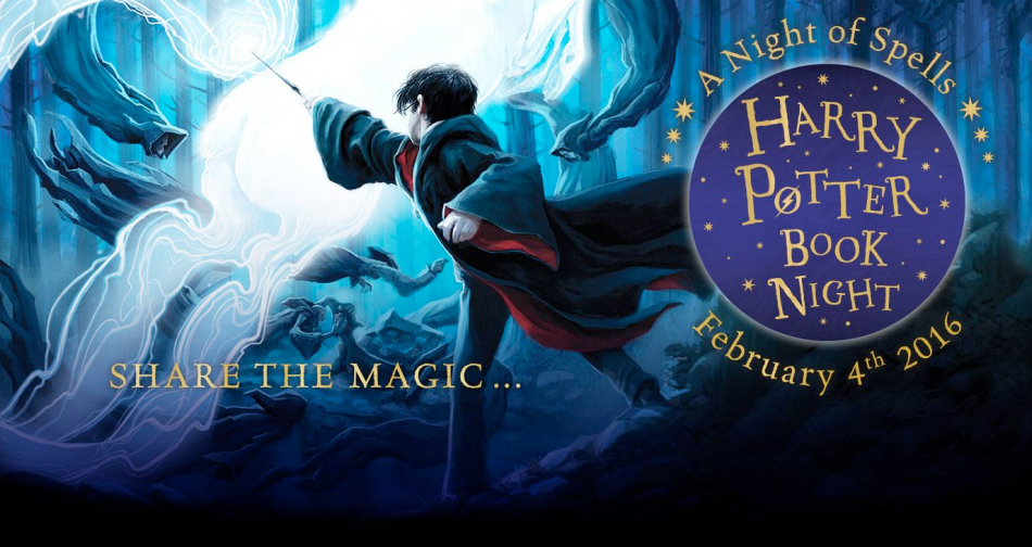 Harry Potter Book Night Feb 4 2016